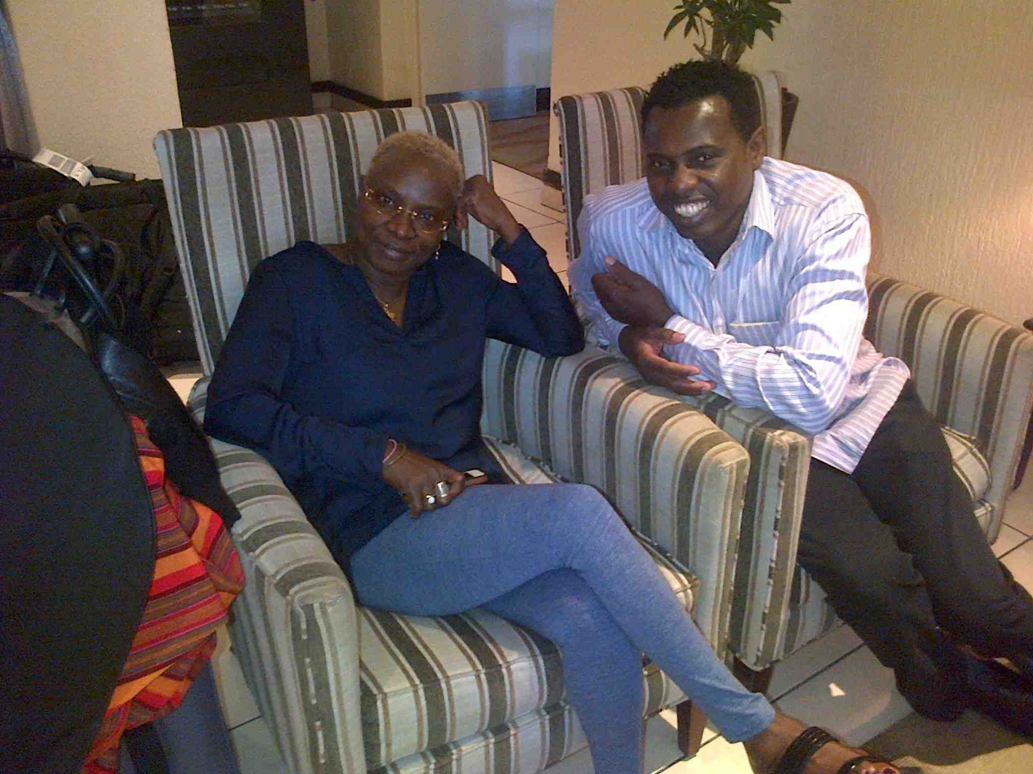 East London with Angelique Kidjo!